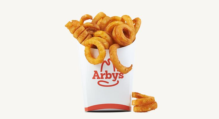 Arby's   Snack Curly Fries.