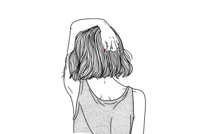 illustration black-white