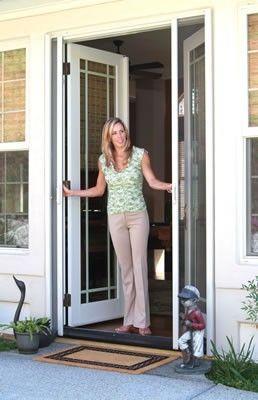 Disappearing Screen Door - Retractable Screen doors Orange County