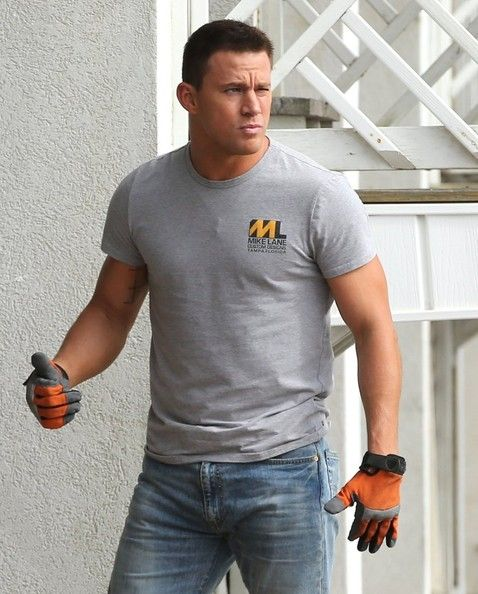 Channing Tatum Photos: Channing Tatum Films 'Magic Mike XXL'