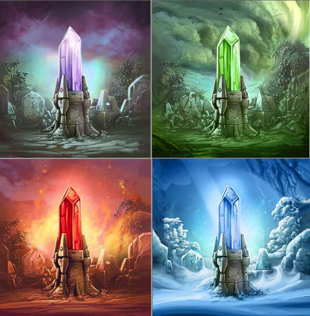 Cool Anime Girl Wallpaper Crystal Elements Magical Elements In 2019 Elemental