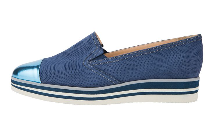 Great choice for summer outfits: slip-on from #Baldinini
