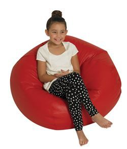 "Children's Factory CF610-007 CF610-007-35"" Red Bean Bag"