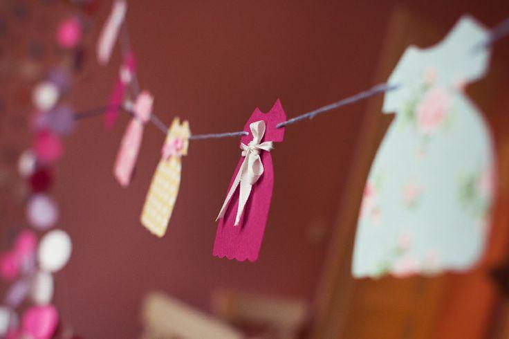 Garland - paper dress