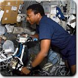 STS-107 Mission Specialist Michael Anderson