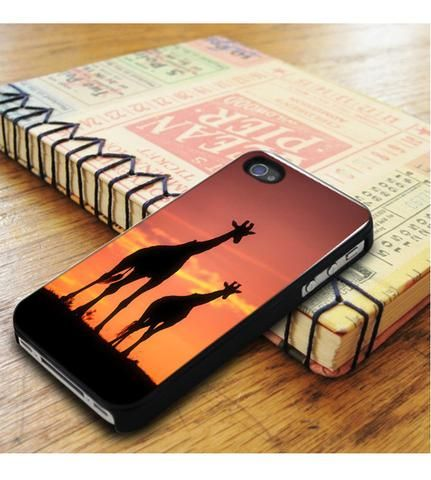 Giraffe In Sunset iPhone 5|iPhone 5S Case