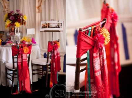 Sillas decoradas con rebozos wedding pinterest for Silla quinceanera