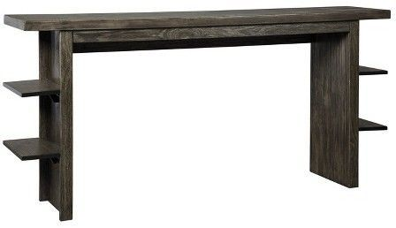 Signature Design by Ashley Counter-height Table Charcoal Heather