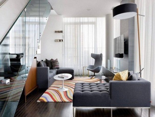 Interior Design Concepts For A Modern Styled Living Room