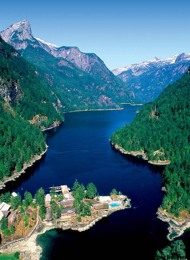 'The most beautiful place on earth' Princess Louisa Inlet British Columbia