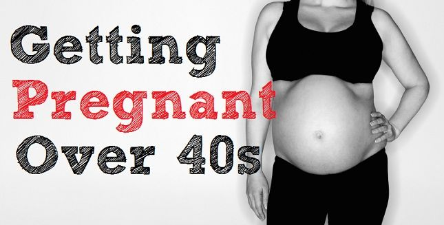 Pregnant After 40s: Lists natural methods to enhance conception after 40.