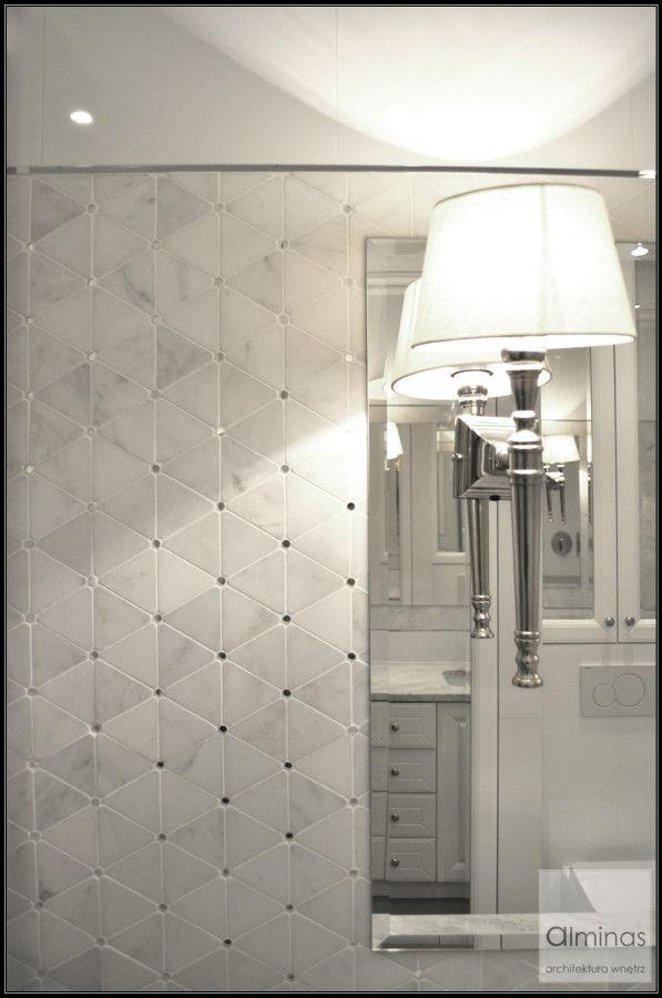 Łazienka, kamienna mozaika