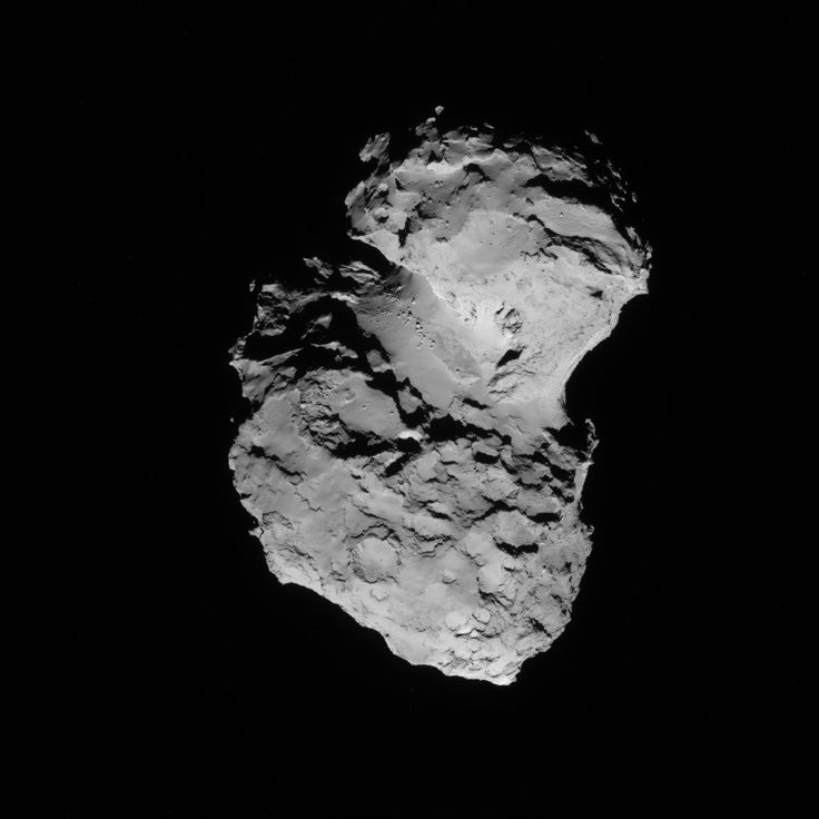 Comet 67P on 8 August 2014 - NAVCAM | Space, astronomy ...