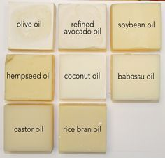 Single Oil Soaps – Learning Saponified Properties of Soapmaking Oils