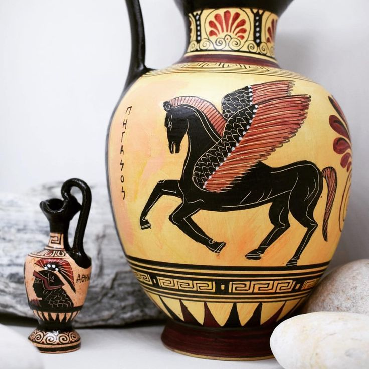 Miniature or a big one vase? handcrafted pieces of Greek art now available in store! ❤️ Discover the world of ancient Greek art with wonderful handmade ceramics www.acropolisgallery.etsy.com