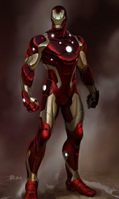 Iron Man Bleeding Edge Armor- I began my love of reading in the pages of Marvel Comic books.