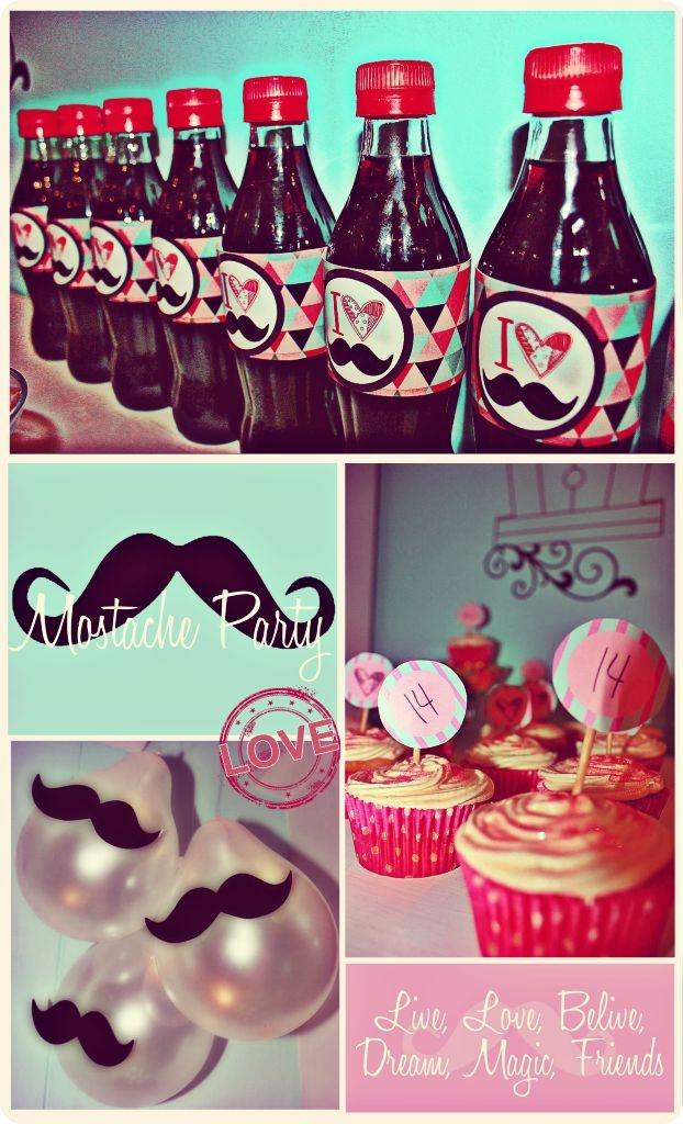 Moustace party?! BEST IDEA!