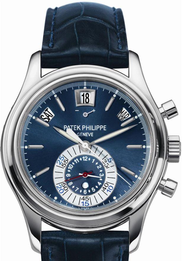 PATEK PHILIPPE 5960P BLUE DIAL CHRONOGRAPH