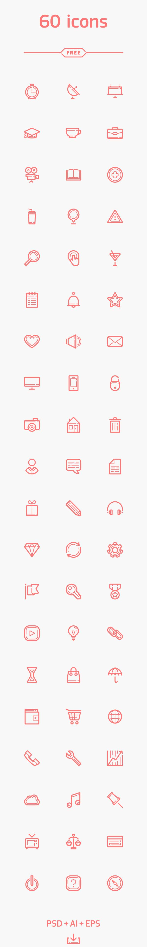 Free Icons for Web and User Interface Design # 65