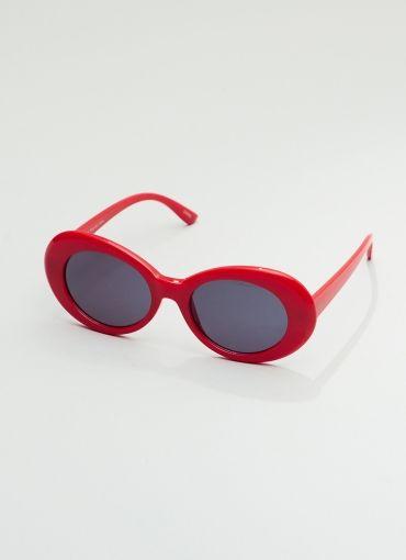 Retro 1950 Fashion Oval - Red-Smoke