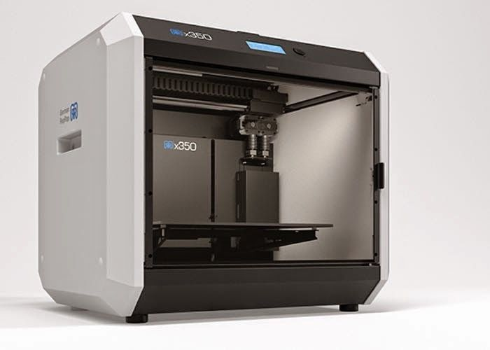 New reprap x350 3d printer unveiled for When was 3d printing invented