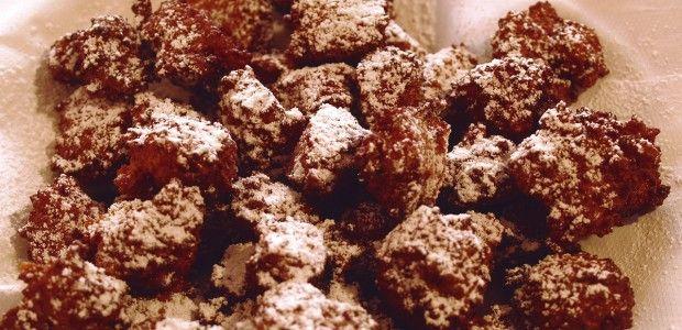 Frittelle di carnevale con #farro spezzato