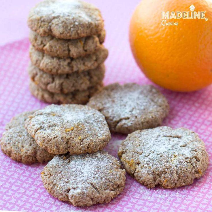 Ricciarelli light - fursecuri sanatoase cu migdale / Light almond cookies