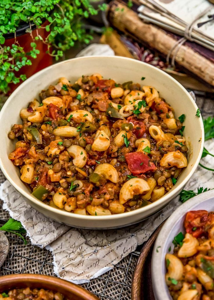 Vegan Italian American Goulash Recipe American Goulash Whole