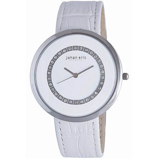Johan Eric JE5002-04-001 Vejle Womens White Watch