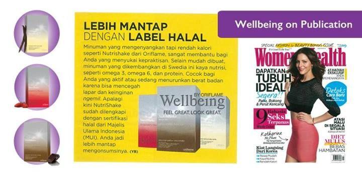 NUTRISHAKE Oriflame @majalah majalah majalah WomenHealth. Feel Great Look Great!