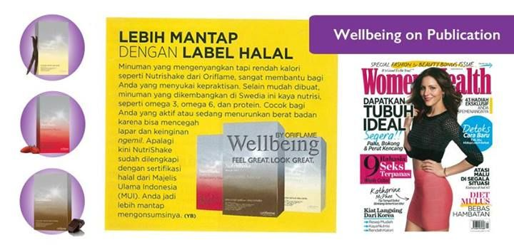 NUTRISHAKE Oriflame @majalah majalah majalah WomenHealth. Feel Great Look Great!