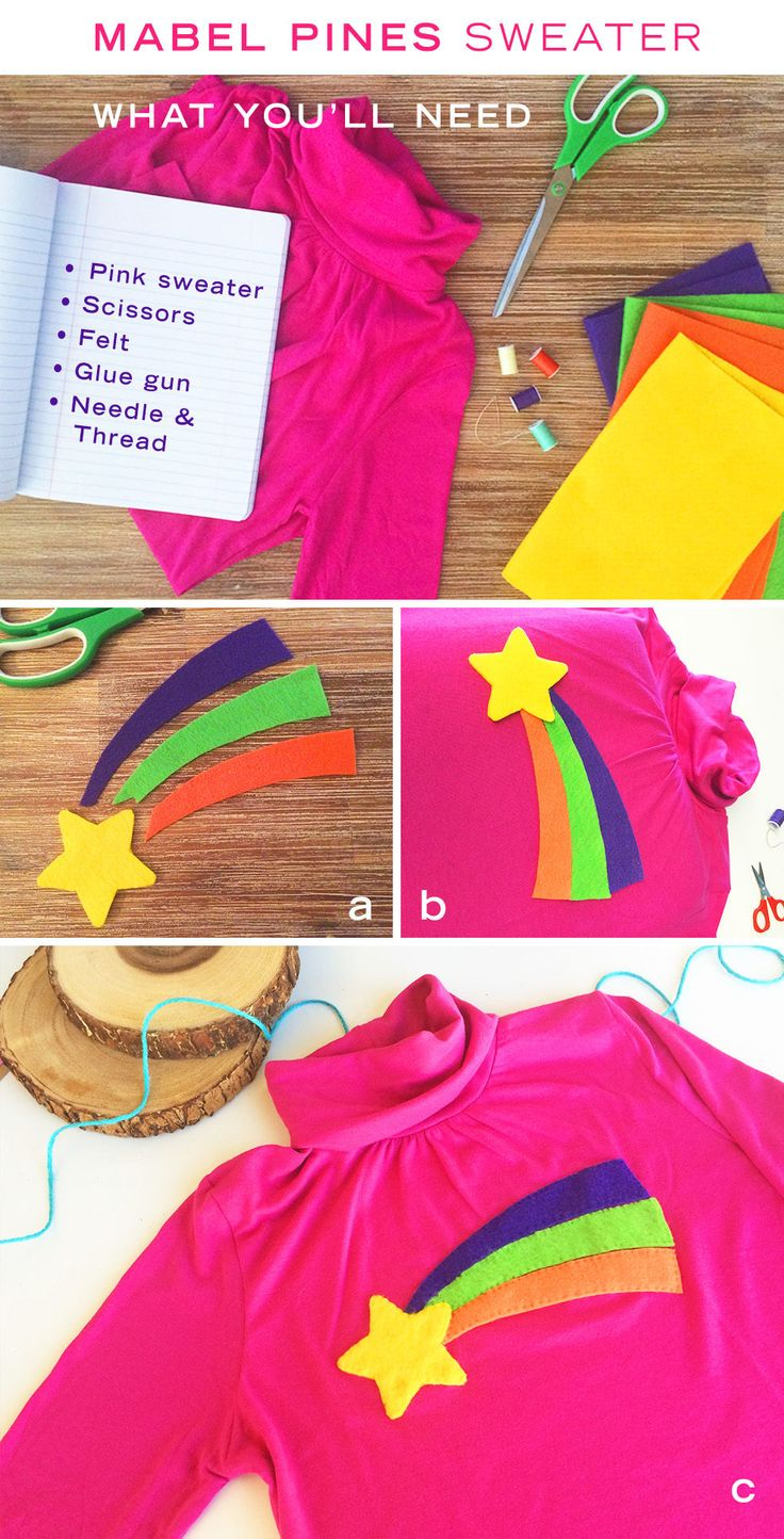 DIY: Mabel Pines' Shooting Star Sweater