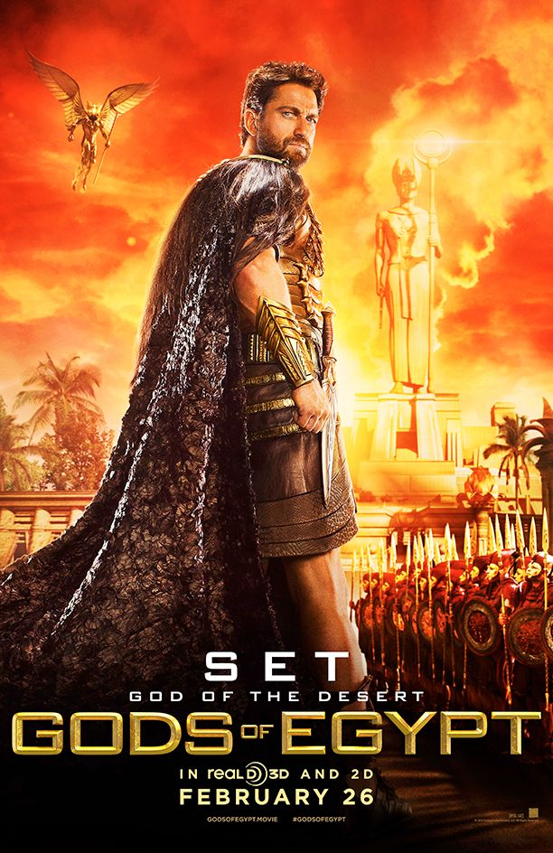 Gerard Fookin Butler - What Did the Ancient Egyptians Do to Deserve These Gods of Egypt Posters?