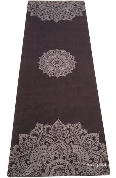 HOTYOGA Matte Yoga Designlab Mandala Black - Shanti Yoga Store