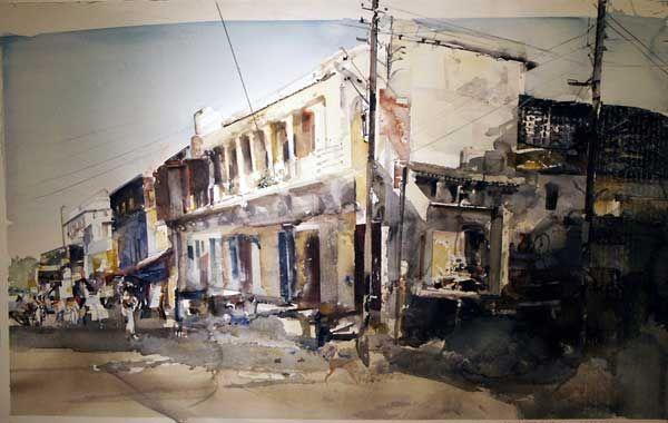 Lars Lerin - watercolors master!