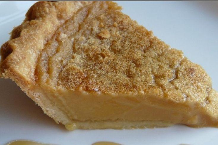 Elle est tout simplement parfaite...la tarte au sucre