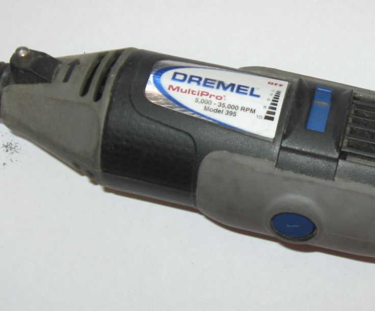 So my Dremel 395 died mid project! No power no strange noises! it was just mocking me and acting like it was like it was unplugged!I figured that since it didn't smell of burning metal I should be able to get it going again.