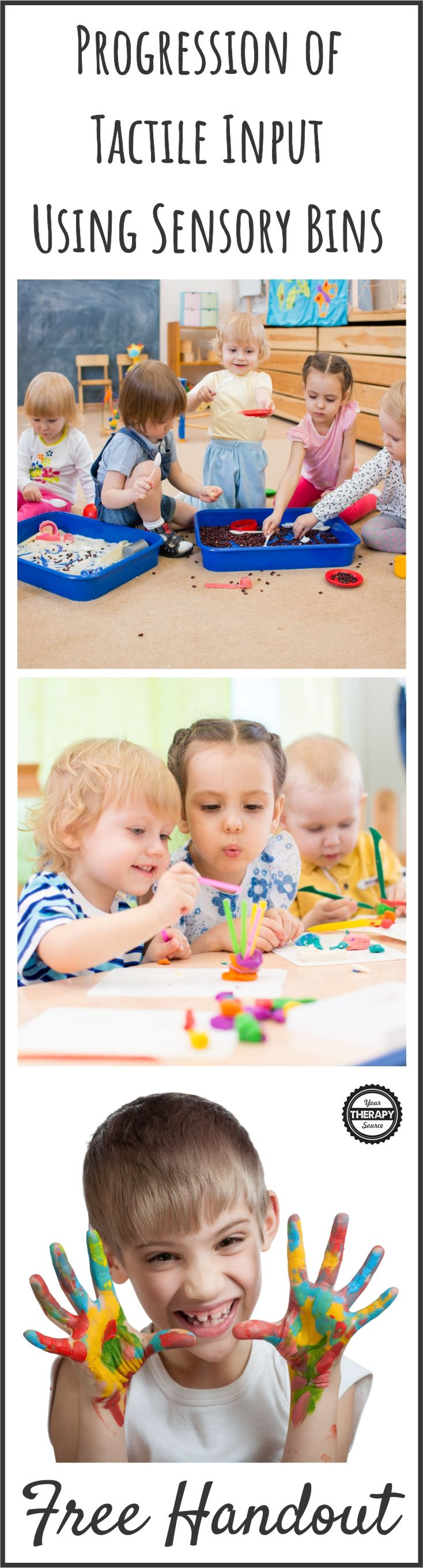 374 best Dabbling With Sensory Bins images on Pinterest