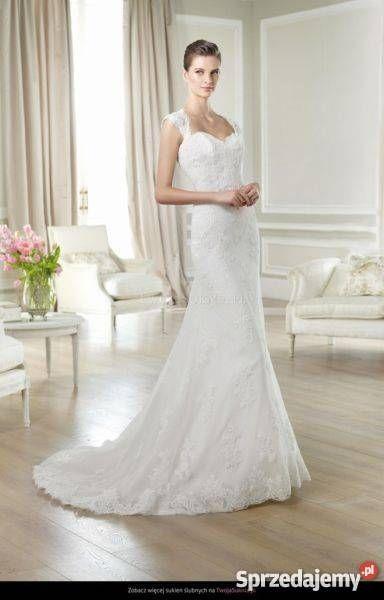 Koronkowa suknia ślubna White One  #slub #wesele #suknia #panmlody #pannamloda