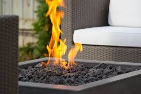 Fire pits can be stylish as well as practical