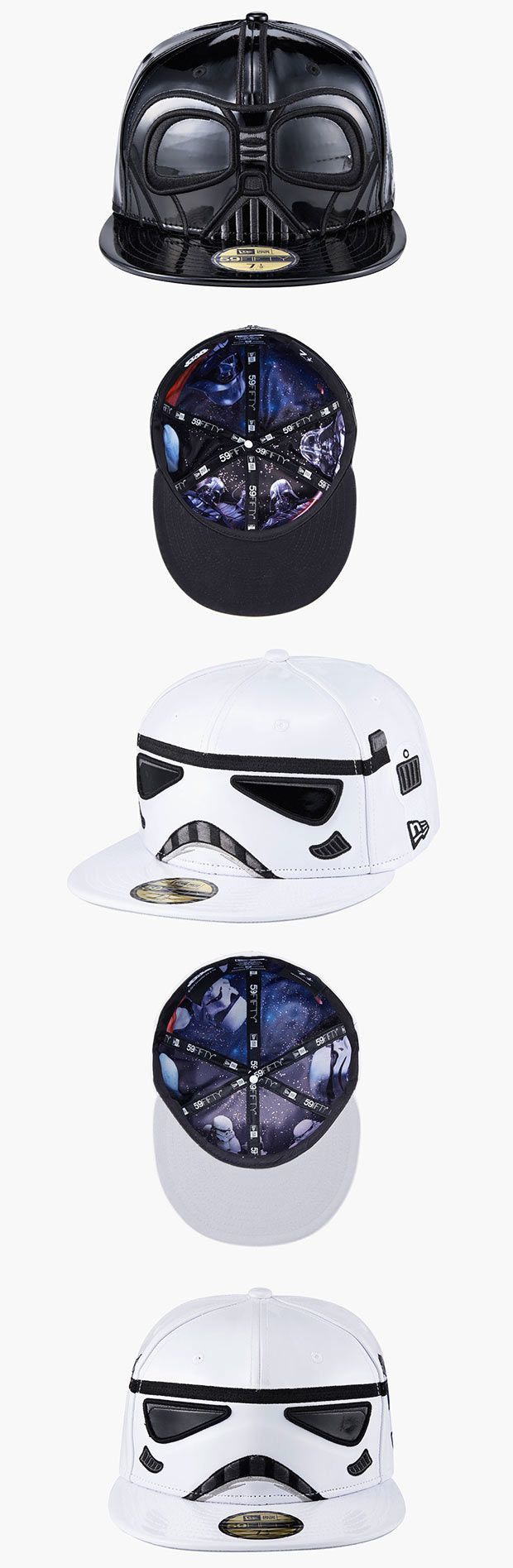 New Era lança edição limitada de bonés do Star Wars [Darth Vader and Stormtrooper]