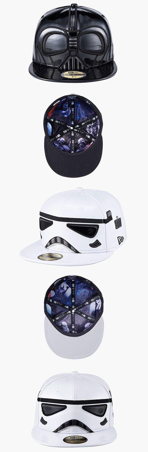 New Era lança edição limitada de bonés do Star Wars [Darth Vader and Stormtrooper]