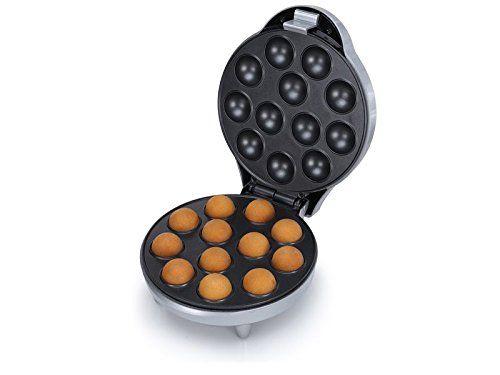 Popcake Maker - 700Watt - mit antihaftbeschichteten Heizplatten
