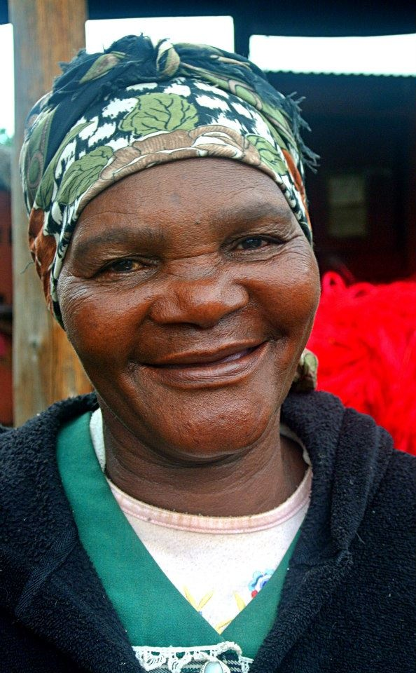 """Meet Cecilia Zwane: """"I am a 60 year old grandmother & I have been weaving Gone Rural products since 1999. #GoneRural has continuously helped me to be financially independent. My family is huge: we are more than 18! Some of my kids have followed my footsteps & are also doing work with Gone Rural. I will continue to partner with Gone Rural & save the money I am earning; that will help my boys to buy materials to do some repairs on my house!"""""""