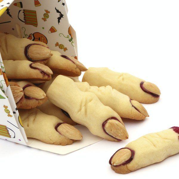 Dedos dulces de Halloween