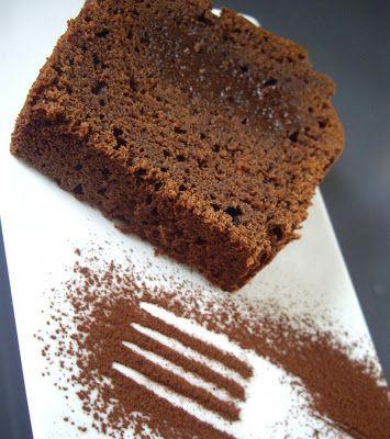 Cake fondant au chocolat noir de Sophie Dudemaine