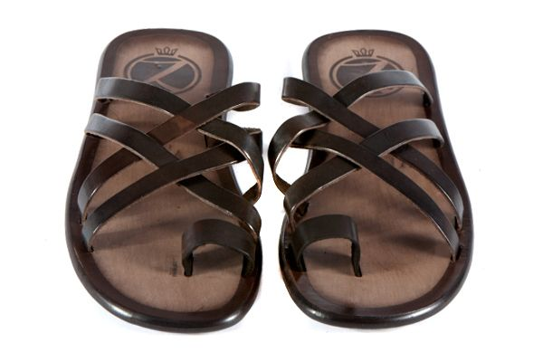 Zaffaella Shoes Campana Dark Italian Mens Casual Leather