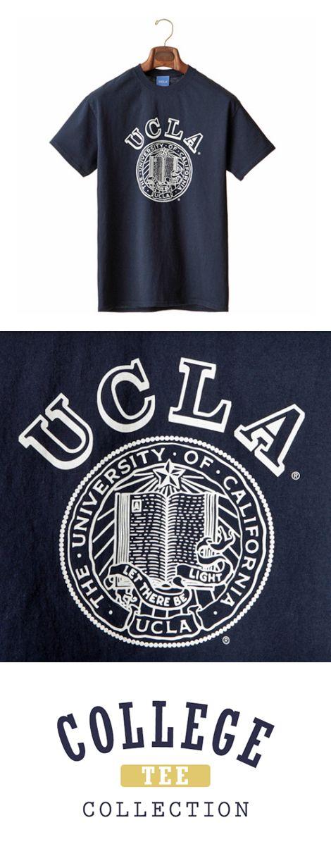 COLLEGE TEE(カレッジ ティー)  アイビーリーグを代表する名門校ハーバード大学をはじめ、UCLA、ミシガン大学、アリゾナ大学などのオフィシャルライセンスグッズ。  前面にロゴやキャラクターを配した商品は現地学生やお土産の定番アイテム。