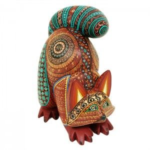 David Hernandez Raccoon Alebrijes. Great pose for a cat too.