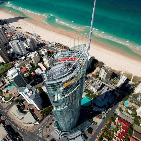 Skypoint Climb, Gold Coast. Do & See in #goldcoast #hooroo